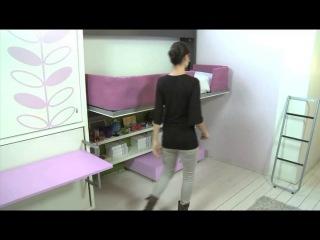 Мебель-трансфомер CLEI в Белгороде. Каталог Young System
