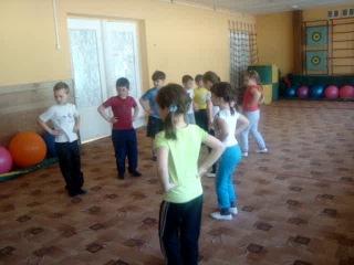 Открытое занятие по ритмике. Подг.общ.гр