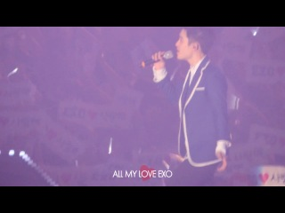 [FANCAM D-1] 140523 EXO FROM. EXOPLANET IN SEOUL @ DO focus - Lucky
