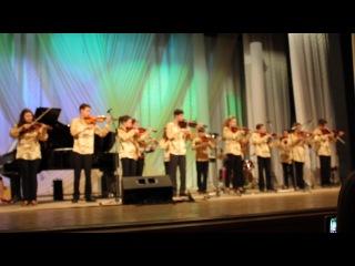 Звітний концерт ДМШ №1 2014 рік Ансамбль скрипачів старших класів Гріг В печері гірського короля