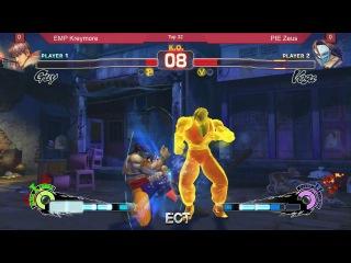 ECT2014 SSFIV EMP Kreymore vs PIE Zeus