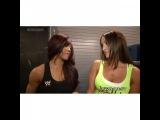 The Bella Twins - Brianna and Nicole Segment Nikki Bella &amp Alicia Fox. (3)