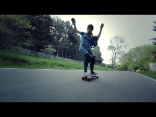 Sk8cinema - Longboard Girls Crew - Carving The Mountains
