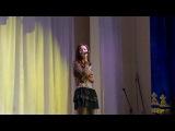 «Simply the best» из репертуара Тины Тёрнер. Поет Айшат Темербекова.