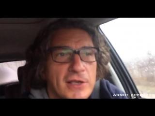 Кузьма Скрябин обращение к депутатам,о качестве дорог в Кривом Роге 01.02.2015