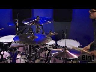 Дуэт на ударных играет заставку к сериалу с Уиллом Смитом Принц из Беверли-Хиллз / A duo on drums plays The Fresh Prince of Bel-Air
