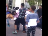 Ro Dixon New Orleans kid knocks out drunk man for talking shit. #vine