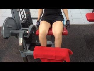 разгибание ног в тренажёре сидя 91x12 3подхода