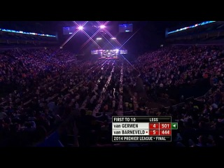 Raymond van Barneveld vs Michael van Gerwen (2014 Premier League Darts / Final)