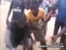 Каннибалы едят ногу мусульманина. Африка.