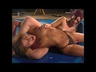 Beautiful Cori Dominated female wrestling
