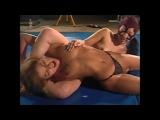 Beautiful Cori Dominated female wrestling