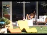 Diego y su bulto en sunga azul II