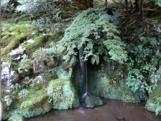 Ginkaku ji Источник воды