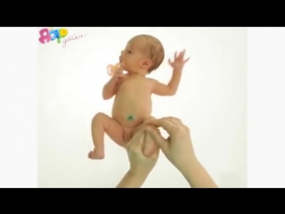 Массаж для новорожденного от 1 до 3 месяцев
