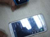 новые bluetooth 2014 android смарт-часы 1.54''inch zgpax s12 мужчин наручные часы телефон для умных синхронизации sms/призываем продажи 4 цвет