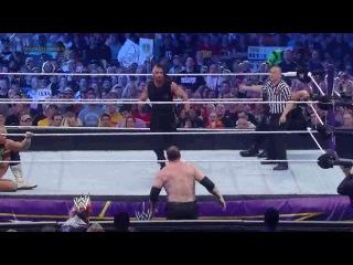 (WWEWM) Wrestlemania XXX- The Shield vs Kane and New Age Outlaws