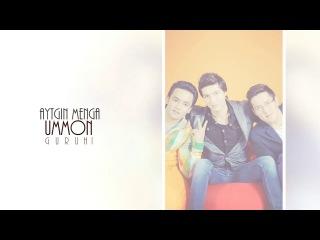 Ummon guruhi - Aytgin menga (official music) 2014