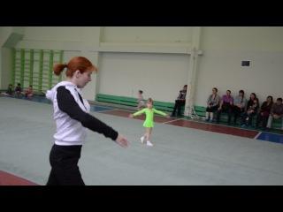 Выступления моей гимнастки на соревнованиях