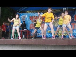 Чуда-Аква-Мега-Танцы формейшн группы Yelloy