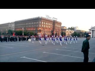 репетиция парада на 9 мая 2014( часть 3) Волгоград
