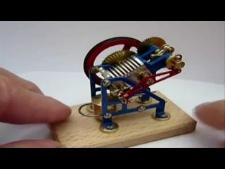 Двигатель Стирлинга - уменьшенная копия.