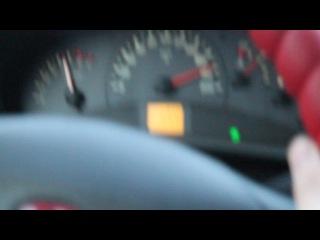 Ваз 2112 Купэ замер макс скорости. Выхлоп 4-2-1 на 92 бензине.