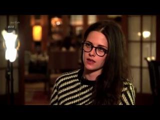 Интервью с Кристен Стюарт для французского канала ARTE TV на съёмочной площадке фильма