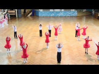 Спортивно-бальные танцы, показательное выступление, г.Кемерово