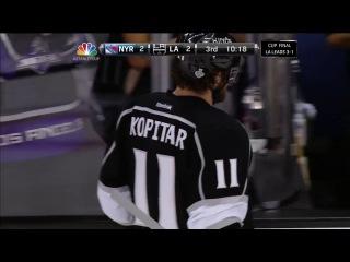 NHL 2013-14 / Stanley Cup / 13.06.2014 / Final / Game 5 / New York Rangers - Los Angeles Kings / 2 часть