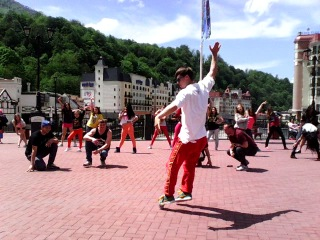 sochi brake dance team@roza khutor