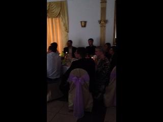 Песня Тарасовой Ирочки для мужа! Гитара - Самвел Аванесов