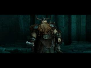 Как приручить дракона 2 - Второй трейлер (русские субтитры) [720p]