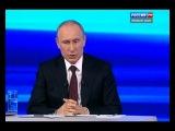 Жизнь и семья: прямая линия с Владимиром Путиным (часть 1)
