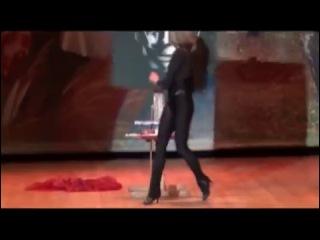 Dancing Painter Show. Promotional video 2013 pat.1 Шоу Танцующий Художник
