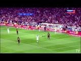 Криштиану Роналду обыгрывает Жерарда Пике и супер гол