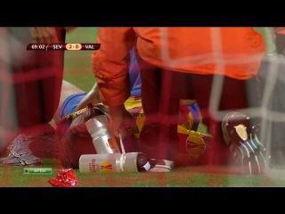 Лига Европы 2013-2014 / 1/2 финала / Первый матч 2 тайм/ Севилья (Испания) — Валенсия (Испания) / НТВ+ [24.04.2014