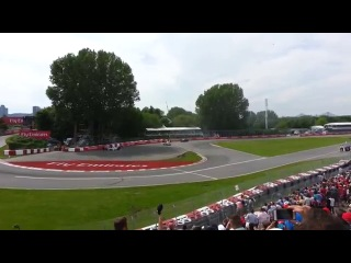 Kanada GP'deki taraftarların son turdaki kazaya tepkisi!