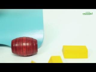 Деревянная игрушка головоломка балансир из бамбука