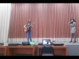 Репетиция. студ весна 2014. Гитара и скрипка.