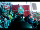 Фанаты Спартака поют песню Максим на стадионе в Казани. 20 апреля 2014 года