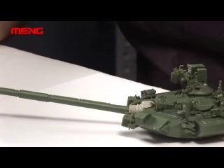 Meng building guidance video for ts-006 135 russian t-90a mbt model kit