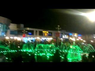 SOHO Египет Шарм Эль Шейх поющий фонтан