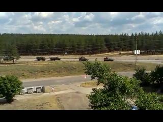Счастье. Передвижение военной техники - 14 июня Сегодня Новости