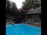 360 Pool Jump: Peter Pan Style @jackandjack