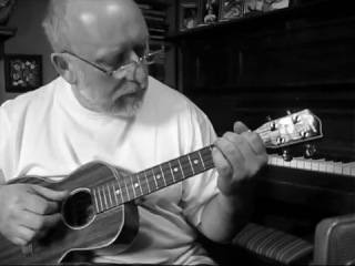 Leonard Cohen - The Butcher ( blues cover on ukulele)