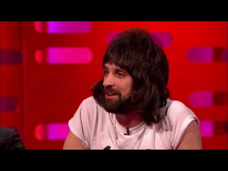 The Graham Norton Show - Kasabian - Eez-eh + Red chair