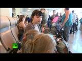 Украинские беженцы Спастись могут не все, потому что граница с Россией перекрыта 25.06.2014