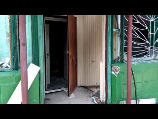 Укр.военные осматривают место засады 3 июня на трассе Кр.Лиман-Славянск