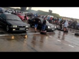 Mercedes W210 burn vs BMW E38 750